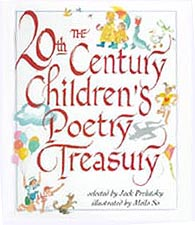 Children's Poetry Treasury Hardcover Picture Book