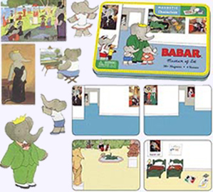 Babar Magnetic Characters