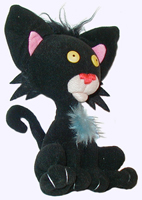 8 in. Bad Kitty Plush Doll