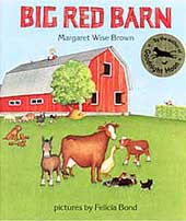 Big Red Barn Hardcover Picture Book