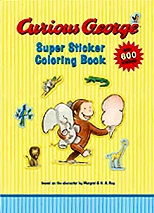 Curious George's Sticker and Coloring Book
