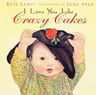 Crazy Cakes Hardcover Book about Adoption