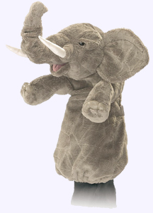 12 in. Elephant Stage Puppet