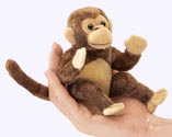 5 in. Monkey Finger Puppet