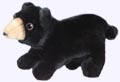 6 in. Black Bear Finger Puppet