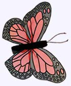 4 in. Butterfly Finger Puppet