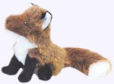 6 in. Fox Finger Puppet