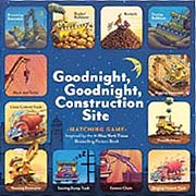 Goodnight Goodnight Construction Site Matching Game