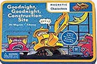 Goodnight Goodnight Construction Site Magnetic Vehicles