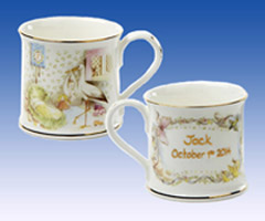Heron Nursery Stork Birth Cup
