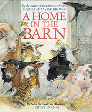 A Home in the Barn Hardcover Picture Book