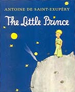 The Little Prince Hardcover Chapter Book with color illustrations.