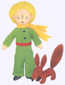 12 in. Little Prince and Fox Plush Doll