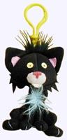 4.5 in. Bad Kitty Plush with Cool Clip