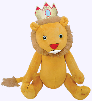 15 in. Henry and Leo the Lion Plush Doll