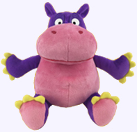 9 in. Hiccupotamus Plush Doll