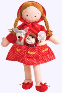14 in. Little Red Riding Hood Pocket Doll