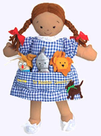 14 in. Tan Dorothy Pocket Doll