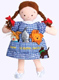 Dorothy Pocket Doll with puppets