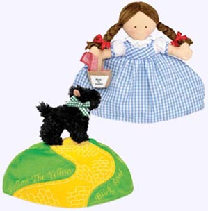 11 in. Dorothy and Toto Topsy Turvey Soft Doll