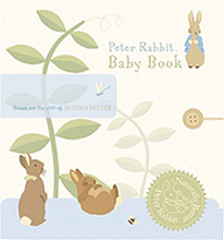 Peter Rabbit Naturally Better Baby Record Book