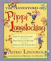 The Adventures of Pippi Longstocking Hardcover Picture Book