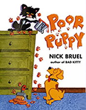 Poor Puppy and Bad Kitty Hardcover Picture Book