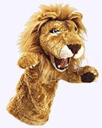 13 in. Lion Stage Puppet