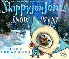 Skippyjon Jones Snow What Hardcover Picture Book with CD
