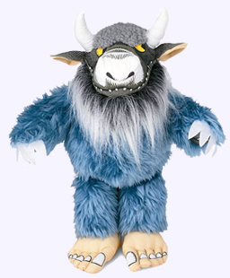 14 in. Bernard Wild Thing Puppet