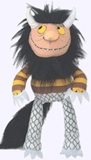 7 in. Moishe Wild Thing Plush Doll
