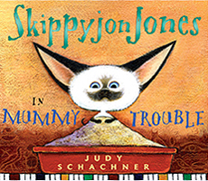 Skippyjon Jones in Mummy Trouble Hardcover Picture Book with CD.
